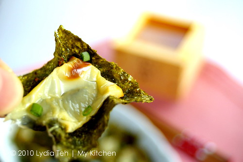 Seaweed with Cheese