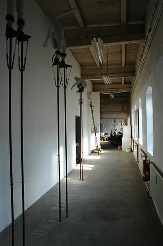 In den Räumen der freien Kunstschule Hamburg