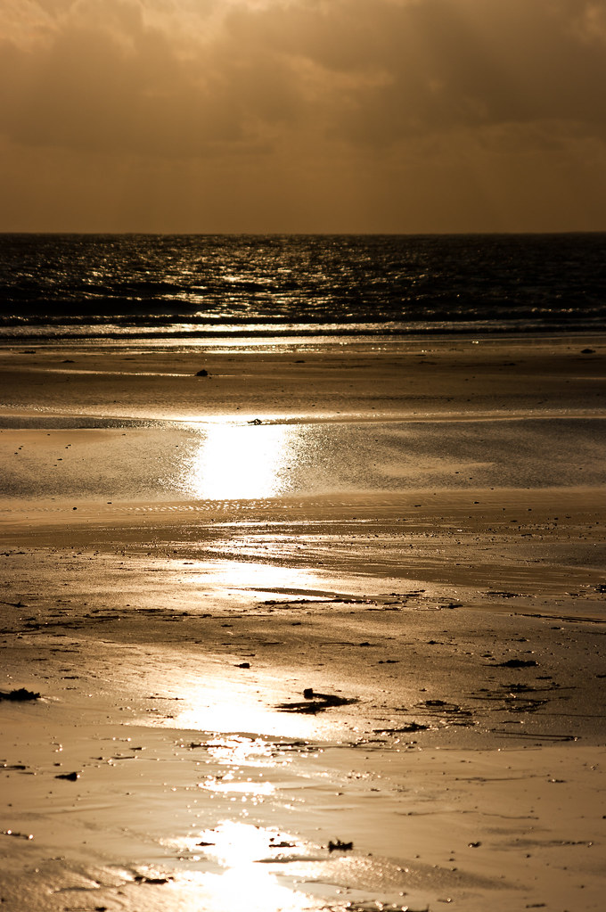 Banna Beach at Sunset