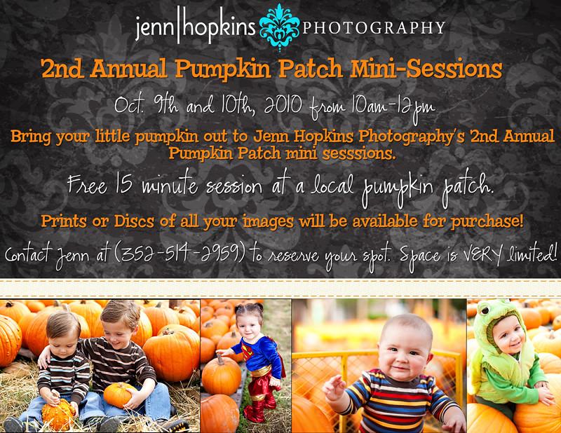 Pumpkin Patch Mini Sessions blog