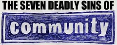 The Seven Deadly Sins of Community logo