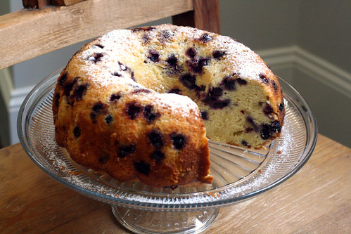 So Tasty So Yummy: Blueberry Lemon Bundt Cake