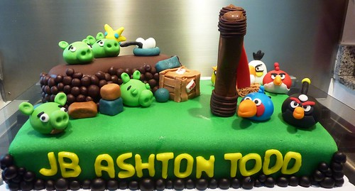 Angry Birds Cake version 2