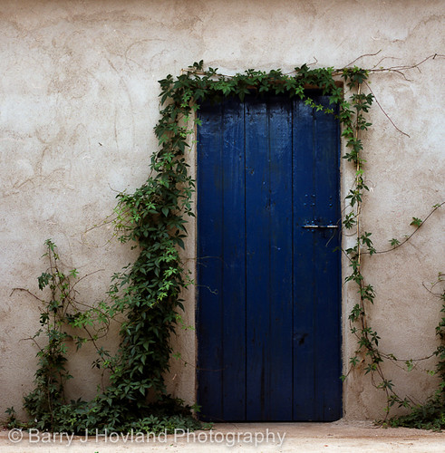 Tanzania_blue_door_00001 by Hovland Photography & 32 Creative Photographs of Doors Pezcame.Com
