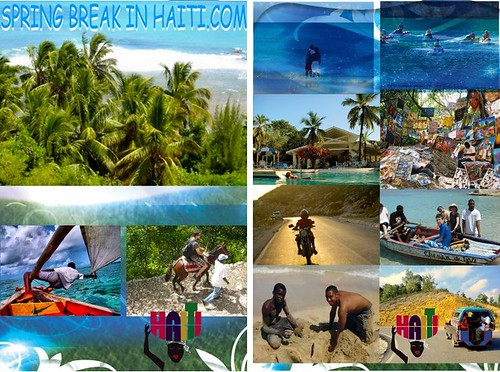 Spring Break in Haiti Poster