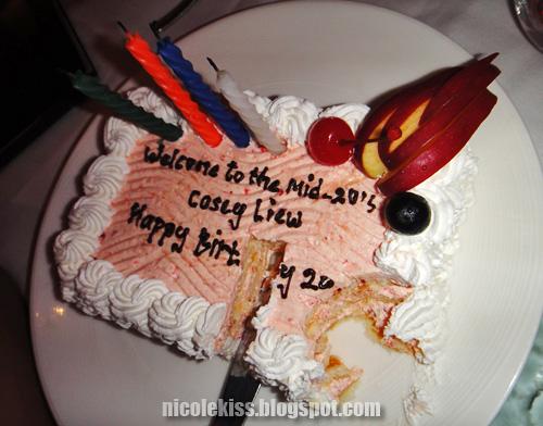 eaten birthday cake