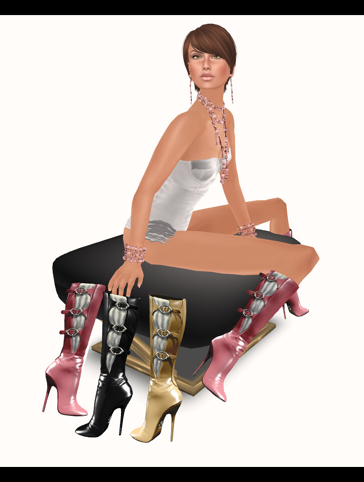 Purrfect 10 - Damaris Boots *NEW*