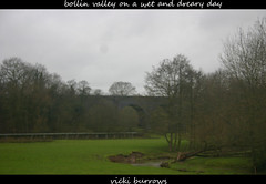 VIEW ON A WET & DREARY DAY.... (vicki127.) Tags: trees field grass river cheshire canon300d branches viaduct wilmslow digitalcameraclub youmademyday flickraward bollinvalley ilovemypics adobephotoshopcs5 vickiburrows vicki127 feburary2011 wetdrearyday