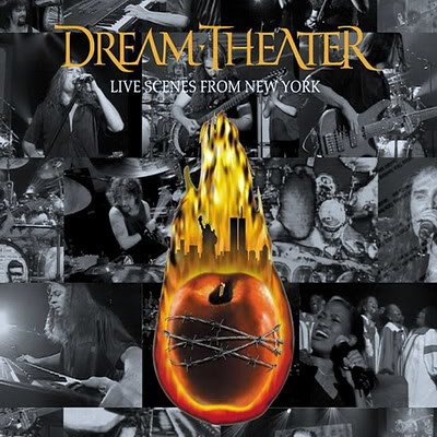 Dream Theater Live Scenes From New York (Original Art)