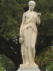 Victorian Statue of Hebe (raaen99) Tags: statue greek goddess victorian australia victoriana marble mythology greekmythology ballarat hebe marblestatue sturtstreet goddessofyouth charlessummers