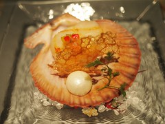 Scallop and Cultivated Pearl