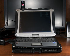 New toughbook (Spoolin'Jim) Tags: pc laptop panasonic tablet toughbook cls cf18
