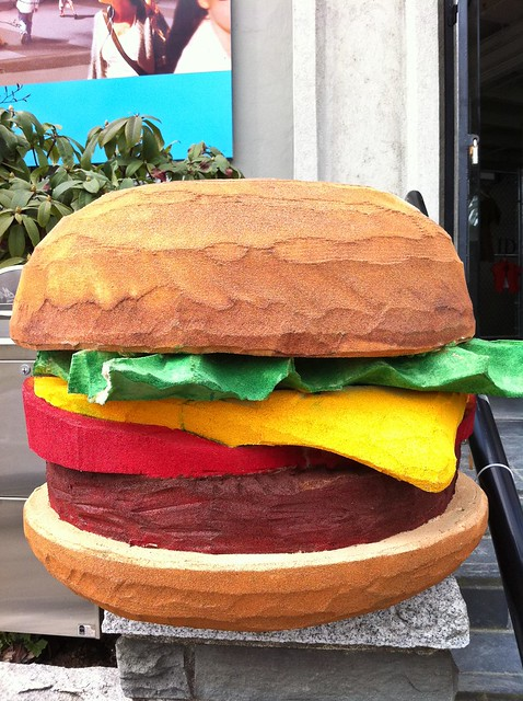 Hamburger Disco entrance