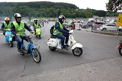 IMG_9363 (Christophe BAY) Tags: mobyltettes francorchamps 2017 rétromobile club spa circuit moto vespa camino flandria