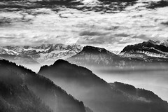 Mountains Beyond Mountains (dennoit) Tags: lucerne luzern switzerland europe mountain mountrigi rigi rigikaltbad rigikulm alps weggis