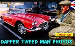 Dapper Tweed Man Old cars part1 (MemoryCube5000) Tags: whangarei auckland tauranga rotorua gisborne napier hastings newplymouth wellington nelson hamilto christchurch dunedin invercargill vintagecar car cars autos auto vehicle tweedjacket tweedcap cavalrytwilltrousers nz kiwi newzealand rally club show gents mens canon retro fashion oldschool british plaid coat 2017 harris houndstooth older oldcarsin motoring outdoor text poster words menstweedjacket wool 100 country oldfashioned blazer dapper hamilton sydney brisbane melbourne london berlin rome paris tweedrun wearing sportscar american 1960s 60s v8 vette corvette red