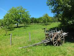 Linac - Outils du Passé (bourg) (Yann LESELLIER) Tags: lot linac charrette
