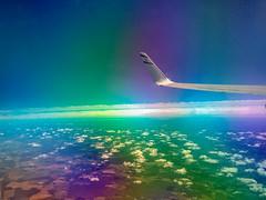 Acid Sky (Boris Zhigun) Tags: israel sahlav taglit sa34814 sky acid plan skyline wing clouds land horizont xiaomi smartphone mobilografiya eretz