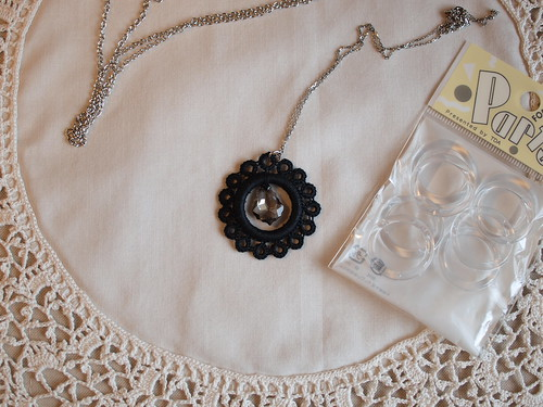 Tatting necklace