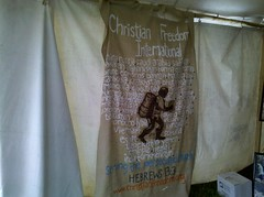 Christian Freedom International tent