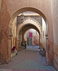 String trio / Trio d'archi (Fil.ippo) Tags: street quiet morocco marocco marrakech medina d5000 impressedbeauty mygearandmesilver