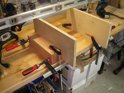 building impromptu rails for router bridge