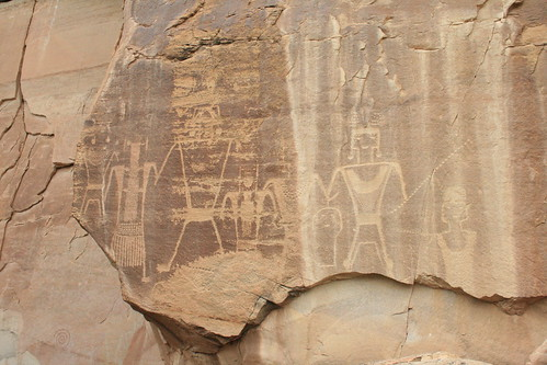 Petroglyphs near Vernal