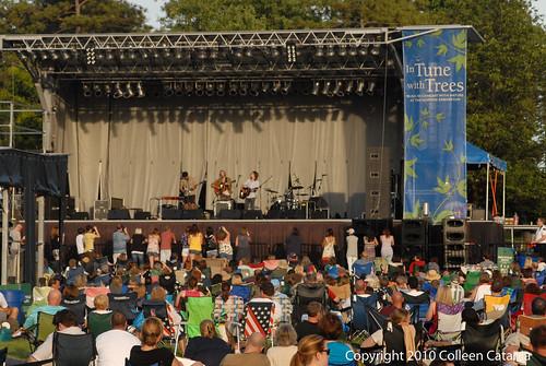 Morton Arboretum Jakob Dylan Concert
