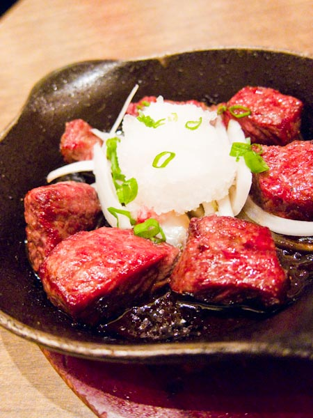 Wafu Hitokuchi Steak