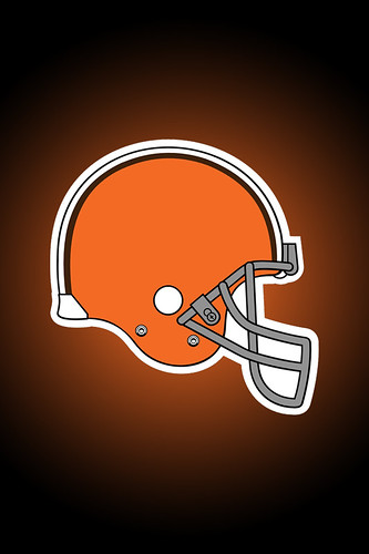 new cleveland browns logo. Cleveland Browns Logo - iPhone
