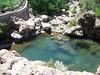 Spring fed pool in Al Ayn, Oman.