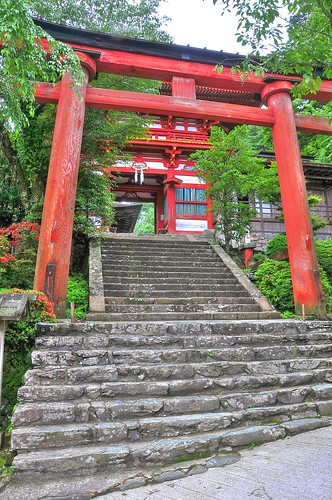 水分神社 mikumari shrine 02 /HDR