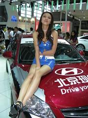 2010 Shenzhen International Auto Show (zikay's photography(no PS)) Tags: sexy girl beauty model exhibition hyundai