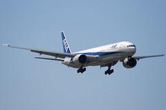 JA732A - 27038 - All Nippon Airways - ANA - Boeing 777-381ER - 100617 - Heathrow - Steven Gray - IMG_5100