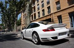 Porsche 997 Turbo (Clem911) Tags: en france car 911 exotic turbo porsche provence aix 997