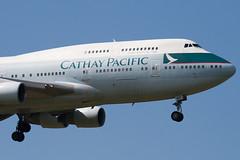 B-HKF - 25128 - Cathay Pacific Airways - Boeing 747-412 - 100617 - Heathrow - Steven Gray - IMG_5230