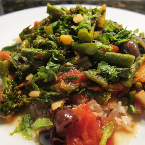 Moroccan Inspired Broccoli & Chard