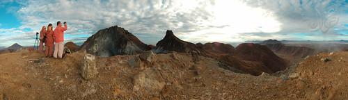 Panorama Mt Sibayak