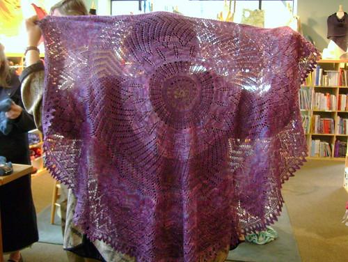 Nancy's Girasole - Handmaiden Sea Silk in Amethyst