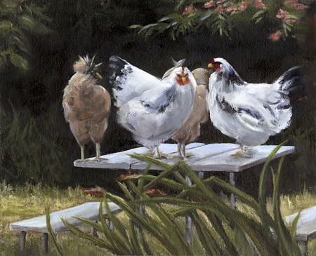 Chicken Picnic by Jonni Reed