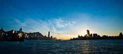17@17-35mm (terencehonin) Tags: sunset hk hongkong nikon harbour nikkor 1735mm victoriaharbour d700 afszoomnikkor1735mmf28difed