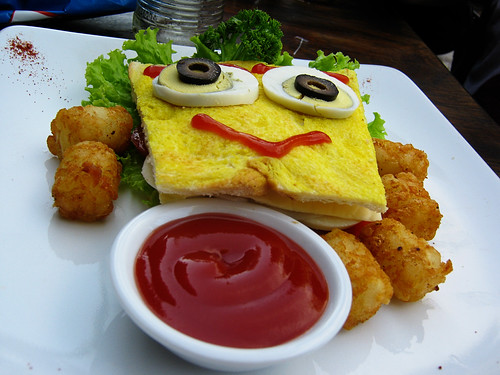 Spongebob Squarepants sandwich