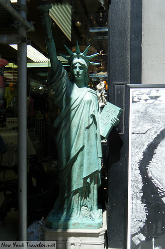 Lady Liberty on Street