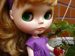 We are having strawberries tonight