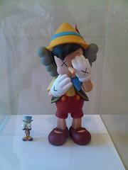 KAWS - Pinocchio and Jiminy Circket