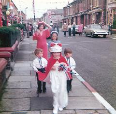 Silver Jubilee 1977 (Scouse Smurf) Tags: greatbritain party june liverpool jubilee 1977 queenelizabeth streetparty bootle silverjubilee