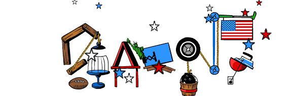 Google July 4th Logo 3