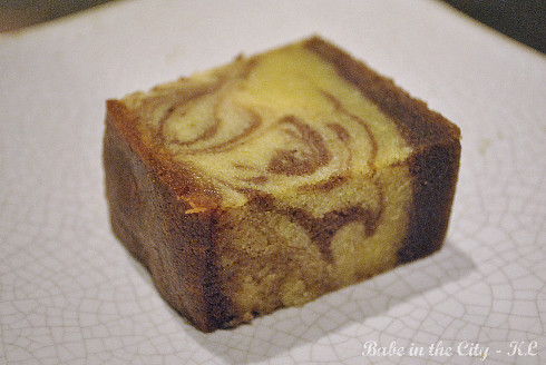 Just Heavenly's Marbled Spice Cake
