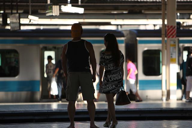 通勤路線の旅情感