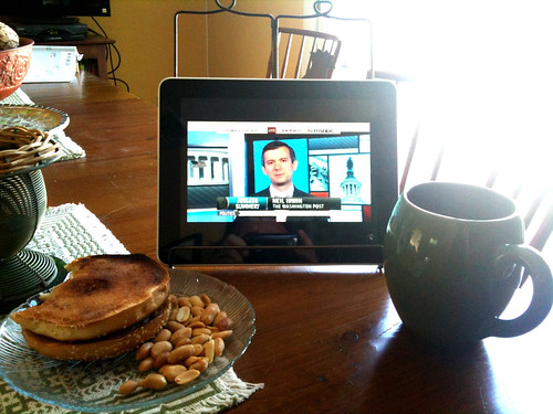 Breakfast With The Morning News *Not* Paper